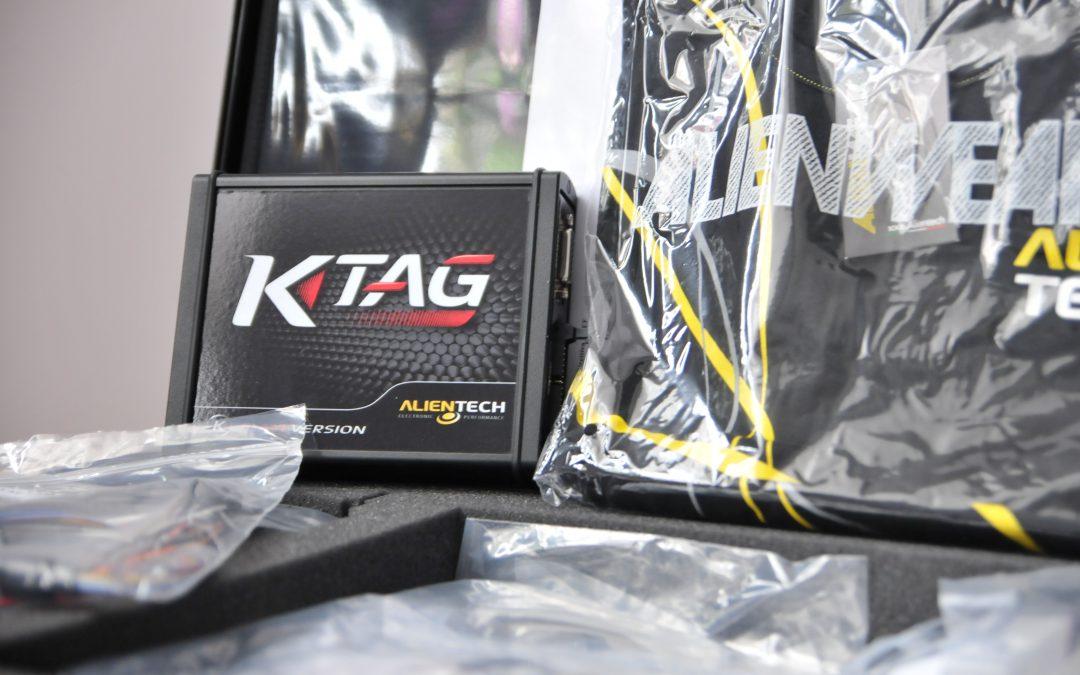 Відео. Зчитування – запис файлів прошивок з використанням KTag від Alientech