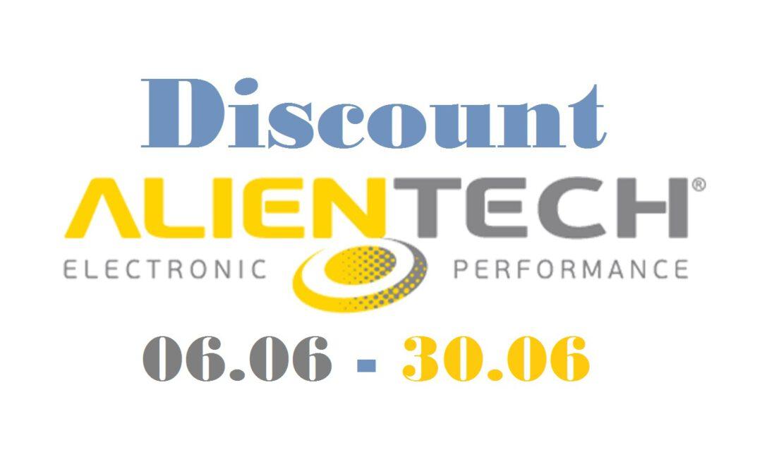 Ловіть червневі знижки від Alientech !!!