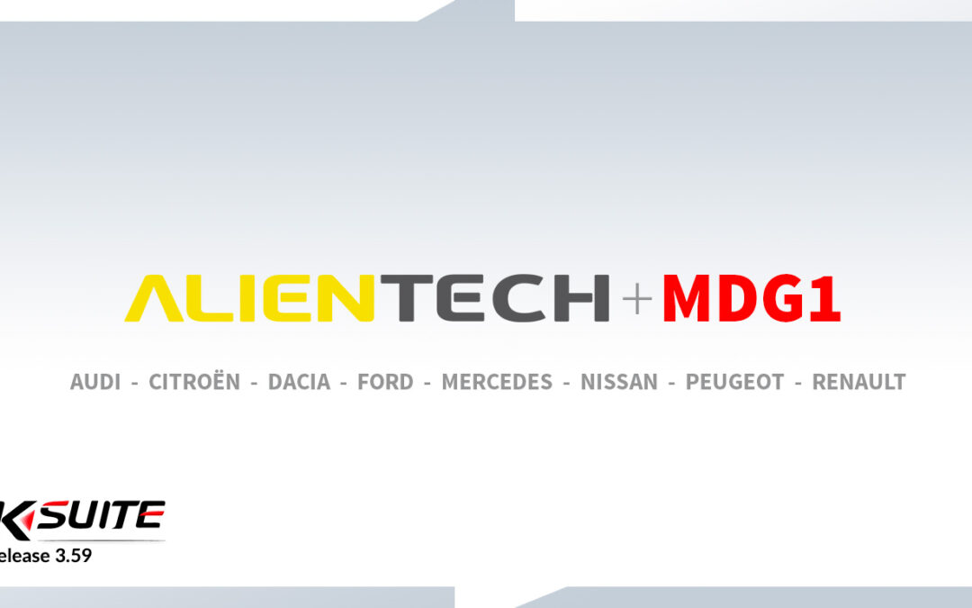 Відео. Обновлення для KTag оригінал від Alientech. Огляд KSuite 3.59 протокол Bosch MDG1. Service Mode !